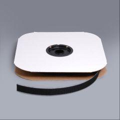 """VELCRO Brand Nylon Tape Hook #88 Adhesive Backing 3/4"""" Black 190940 (25 yards)"""
