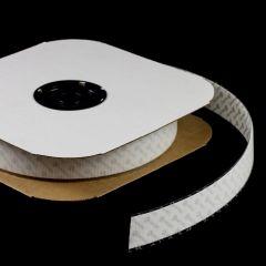 """VELCRO Brand Nylon Tape Hook #88 Adhesive Backing 1-1/2"""" White 191157 (25 yards)"""