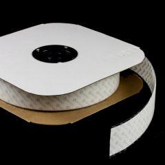 """VELCRO Brand Nylon Tape Hook #88 Adhesive Backing 2"""" White 191231 (25 yards)"""