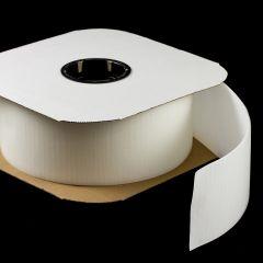 """VELCRO Brand Nylon Tape Hook #88 Standard Backing 4"""" White 190806 (25 yards)"""