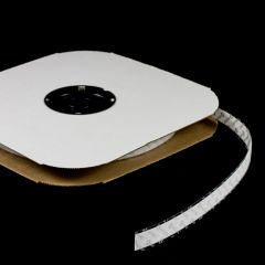 """VELCRO Brand Nylon Tape Hook #88 Adhesive Backing 3/4"""" White 190935 (25 yards)"""