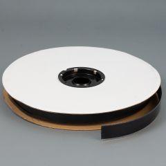 "TEXACRO Nylon Tape Loop #93 Adhesive Backing 1"" Black (25 yards)"