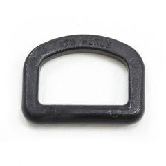 "Fastex D-Ring 1"" Acetal Black"