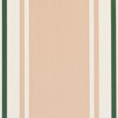 "Weblon Coastline Plus Continental Stripes Awning 62"" Sand/Olive on Ivory CP-2882"