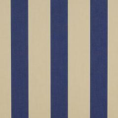 "Sunbrella® Awning / Marine 46"" Mediterranean / Canvas Block Stripe 4921-0000"