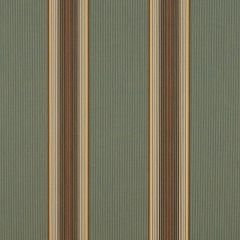 "Sunbrella® Awning / Marine 46"" Forest Vintage Bar Stripe 4949-0000"